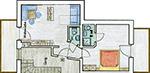 Haus Bernhard Schenna, Ferienwohnung C, Dachgeschoss